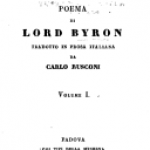 Don Giovanni di G.G. Byron